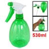 530ml Clear Green Pumpkin Shaped Plastic Sprinkling Bottle Sprayer