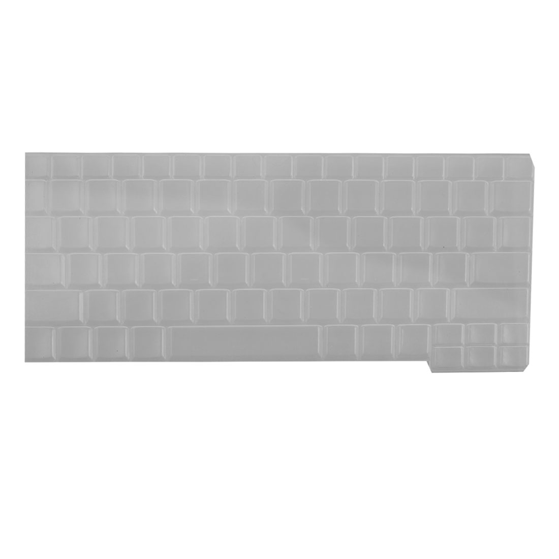 Clear White Silicone Keyboard Protective Cover Film for Lenovo S10-2