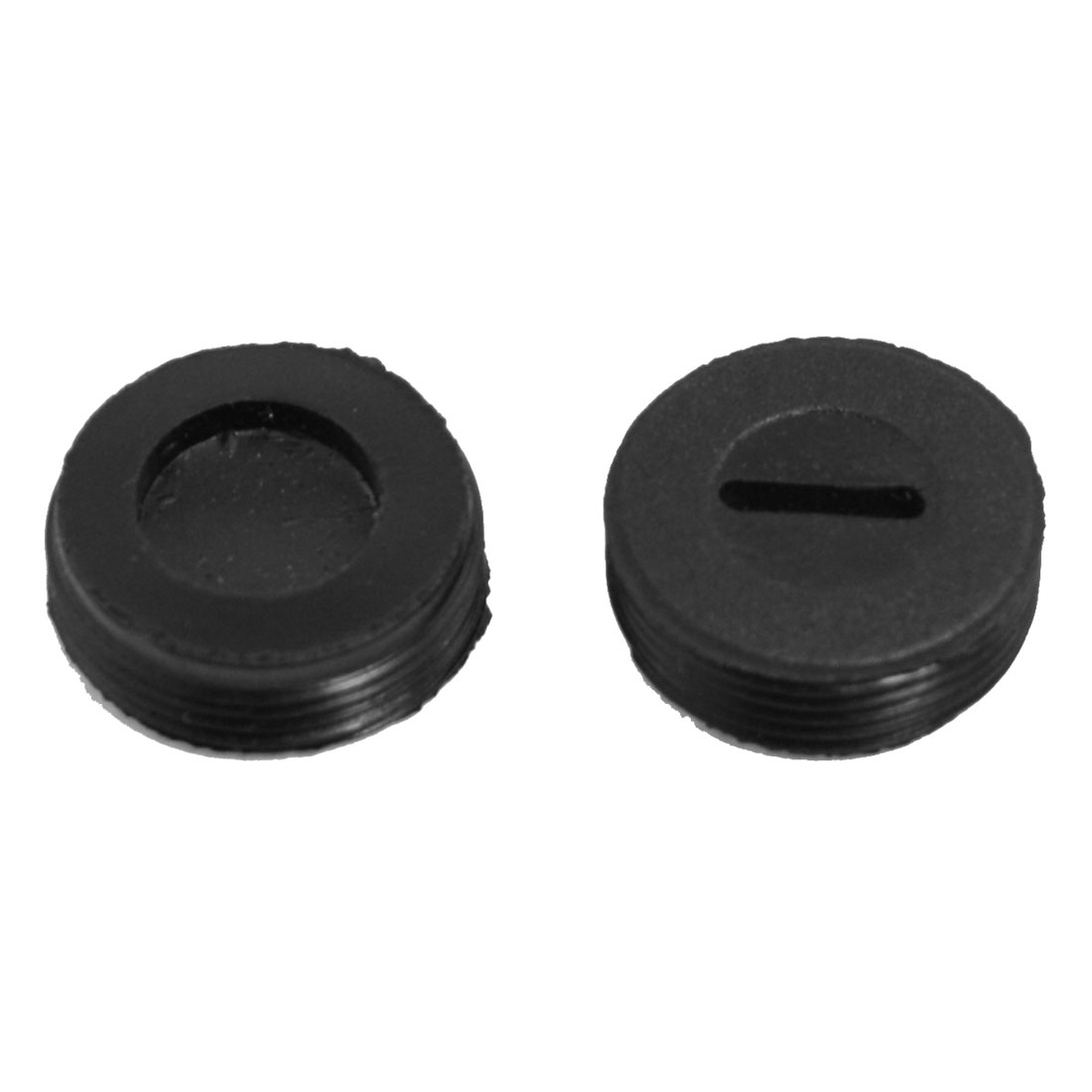 18mm Diameter Plastic Carbon Brush Holder Cap Cover 2 Pcs