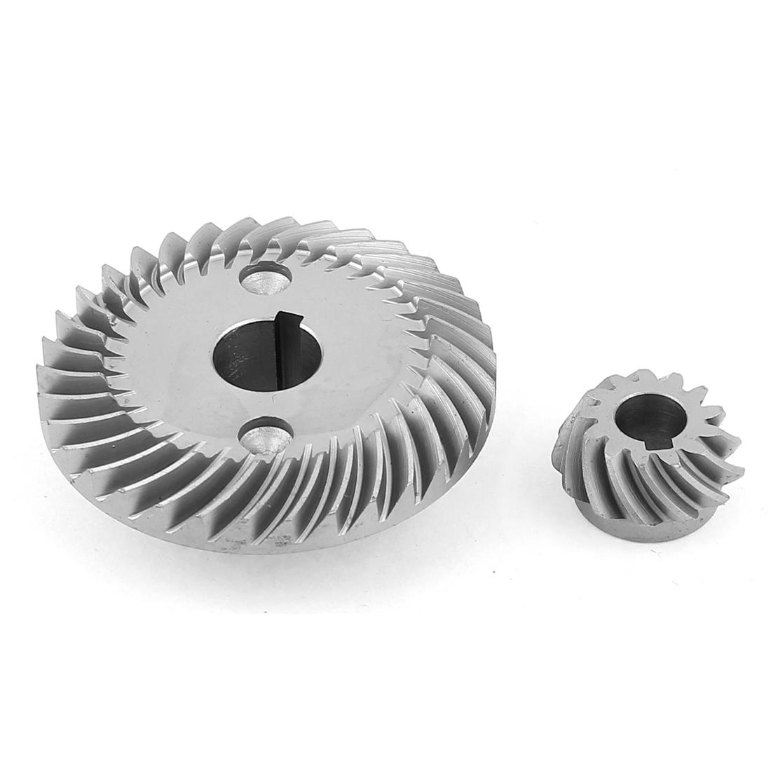 Slot Hole Metal Spiral Bevel Gear Pinion Set for Makita 9500 Angle Grinder