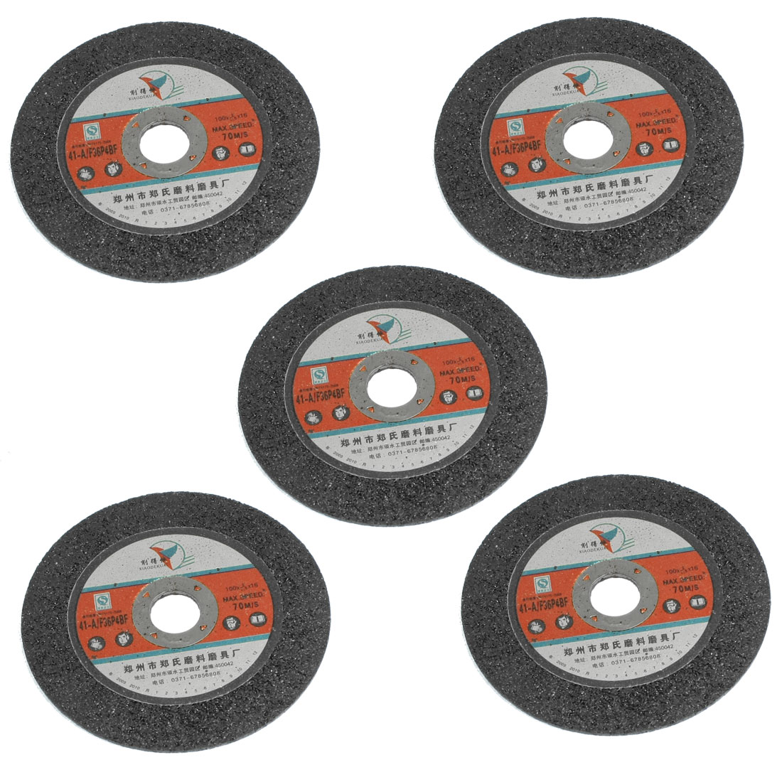 16mm Inner Diameter Disc Abrasive Grinding Wheel Slice Cutting Tool 5 Pcs