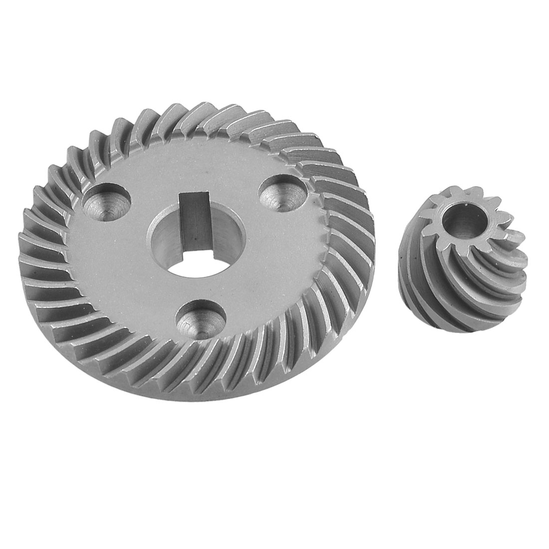 Slot Hole Ring Gear Spiral Bevel Pinion Set for Makita 9553 Angle Grinder