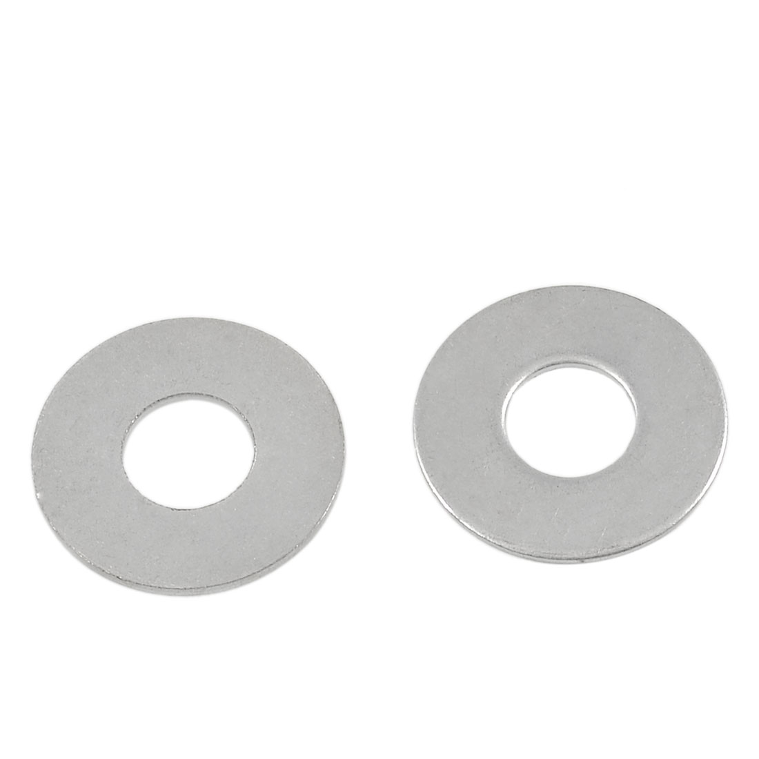 2 Pcs Round Silver Tone Metal Washer for Makita 5016 Chainsaw