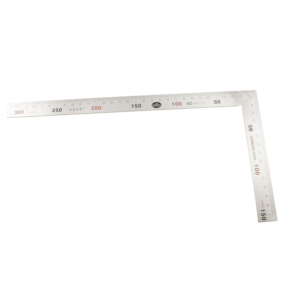 300mm 90 Degree Double Side Angle Metric Try Mitre Square Ruler