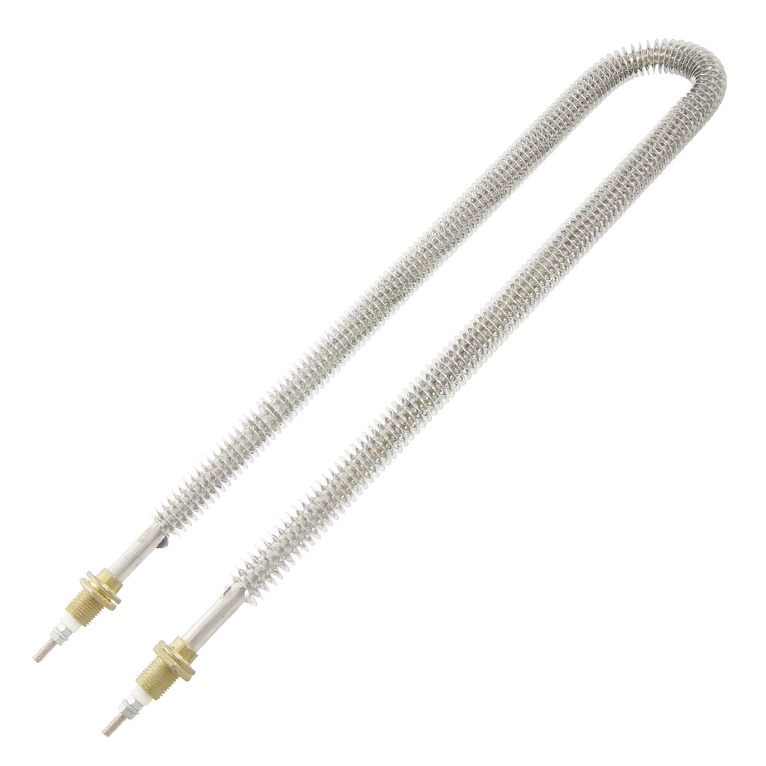 Stainless Steel U Type Electric 15.5mm Threaded Heating Element 1500W 220V AC
