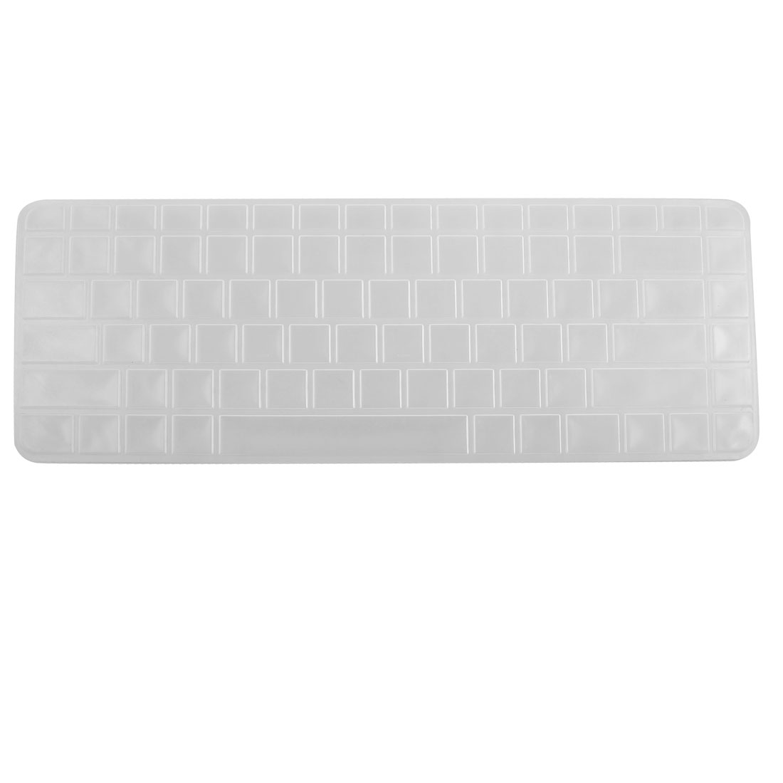 Clear White Silicone Keyboard Protective Cover Film for HP CQ42