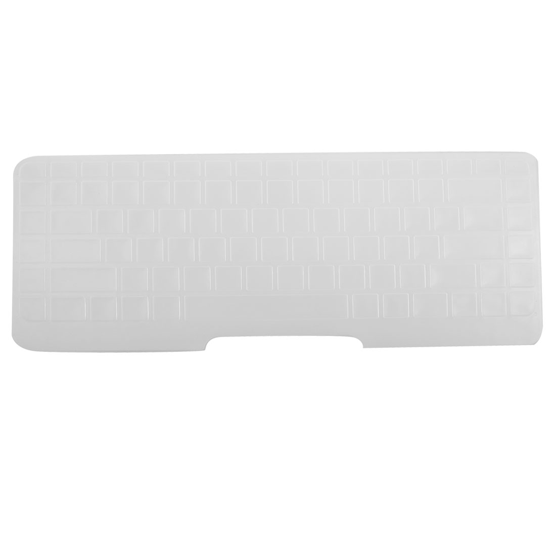 Clear White Silicone Keyboard Protective Cover Film for HP CQ62