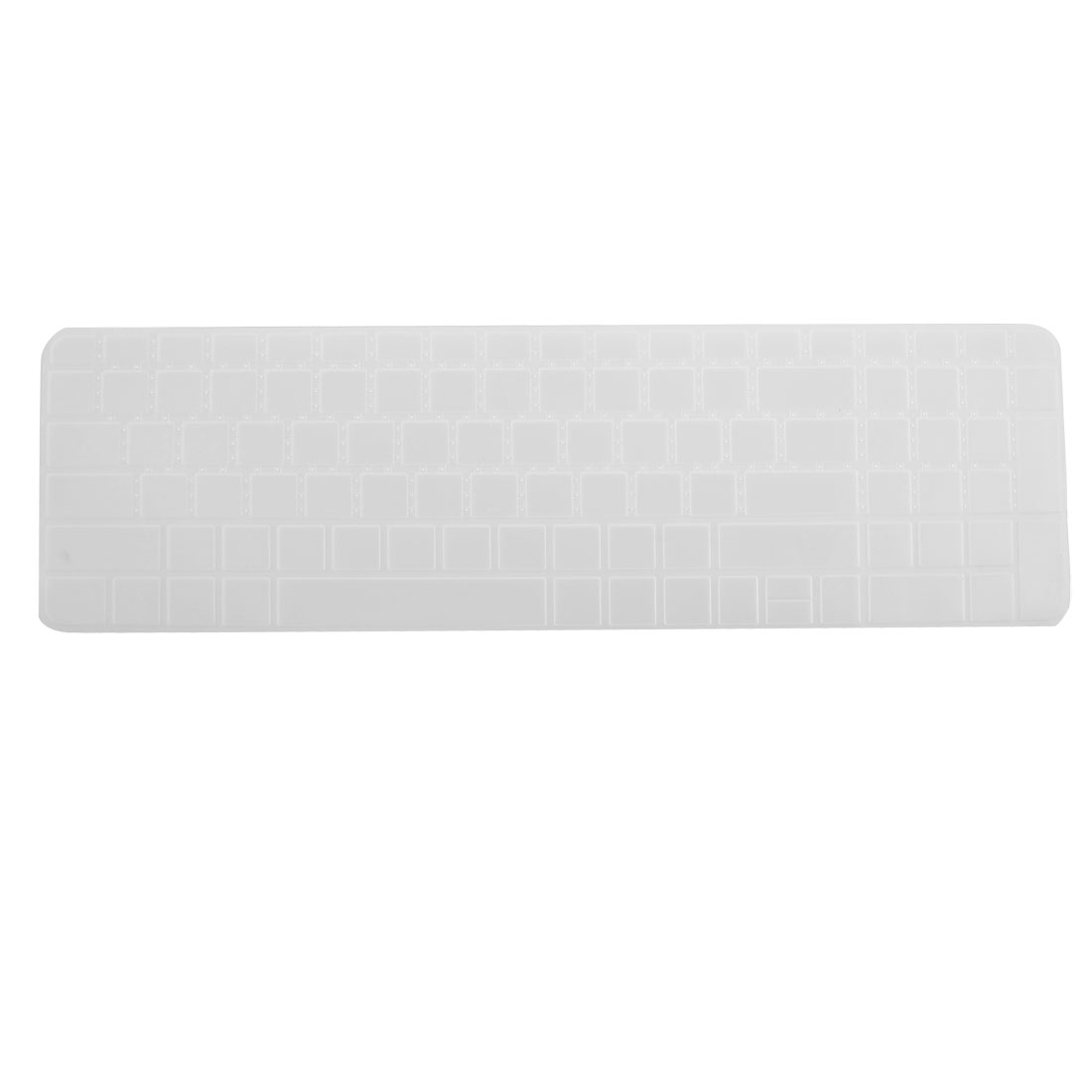 Clear White Silicone Keyboard Protective Cover Film for New HP Pavilion DV6