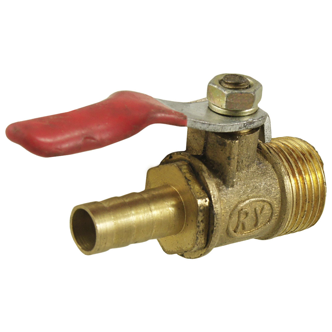 Full Port 16.3mm Male Thread Pneumatic Control Ball Valve