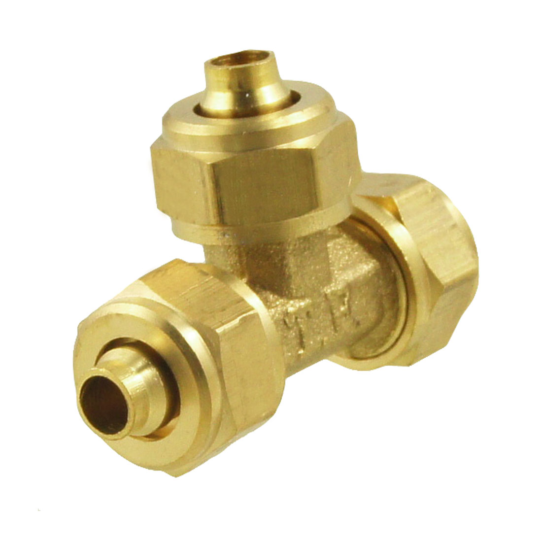 5.5mm to 5.5mm Pneumatic Hose Air Fitting Tee Quick Connector Coupler