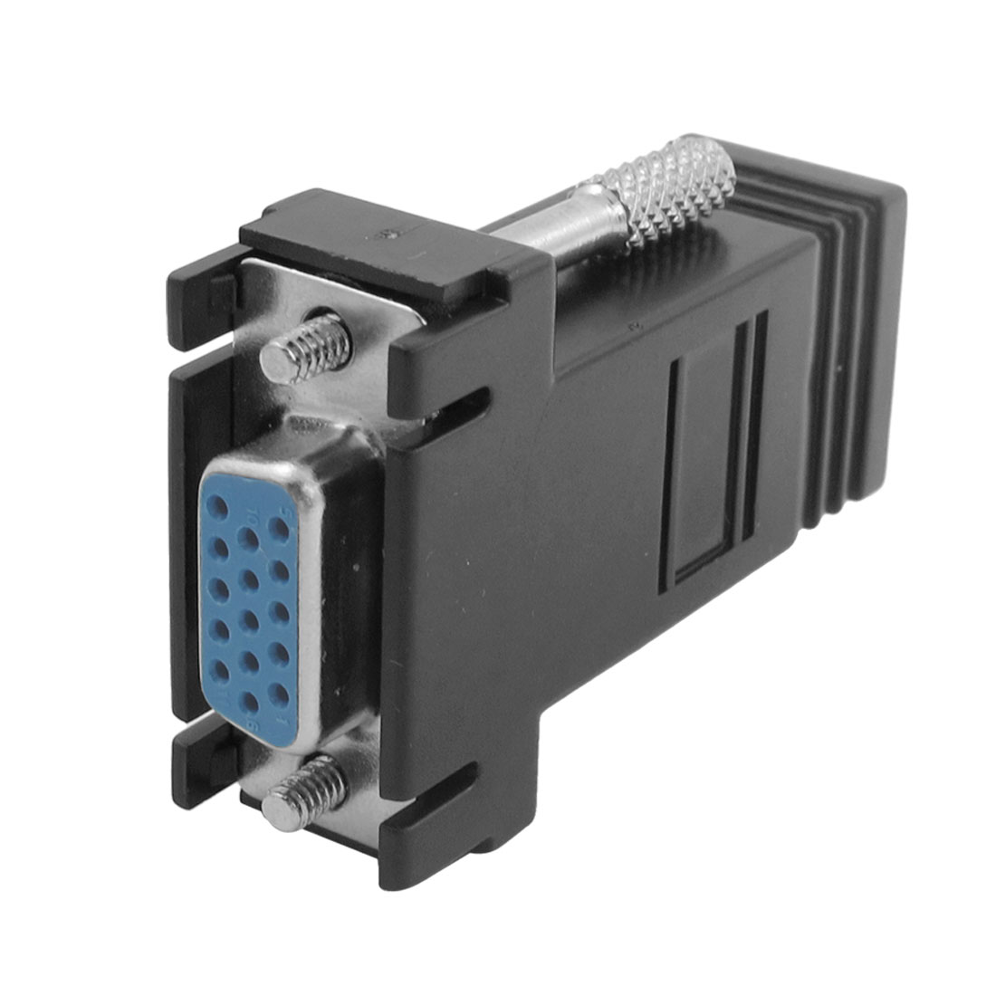 VGA 15 Pin Female to RJ45 Female Jack Coupler Adapter