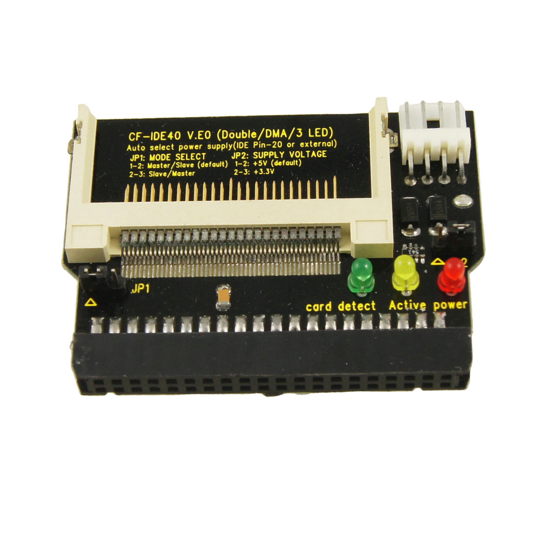 IDE 40 Pin Female to CF Compact Flash Adapter Adaptor