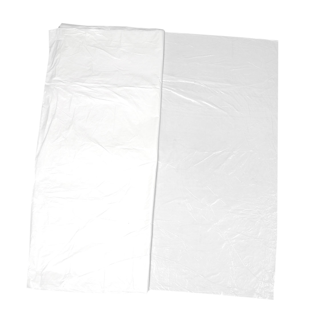 180cm x 180cm Rectangle Shape White Plastic Table Mat 10 Pcs