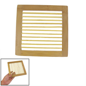Home Rectangle Shaped Wooden Wood Dinner Table Pad Mat