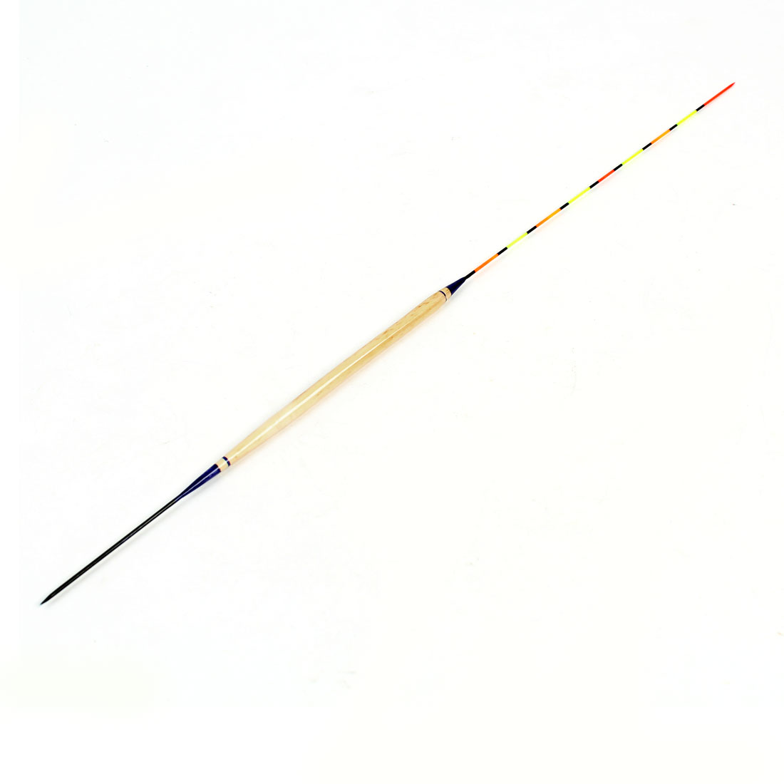 "Colorful Striped Fine Tip Plastic Fish Float Bobber Fishing Tackle 13.3"" Long"