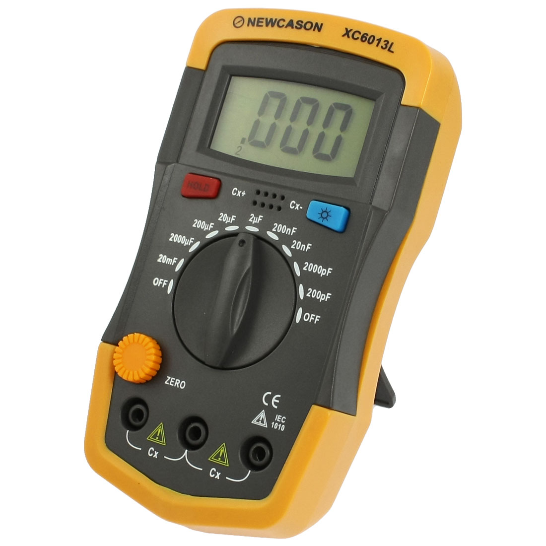 LCD 3 1/2 Digits Display Digital Capacitance Multimeter