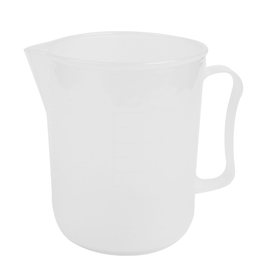 500ML Capacity Kitchen Lab Plastic Handgrip Liquid Measuring Cup