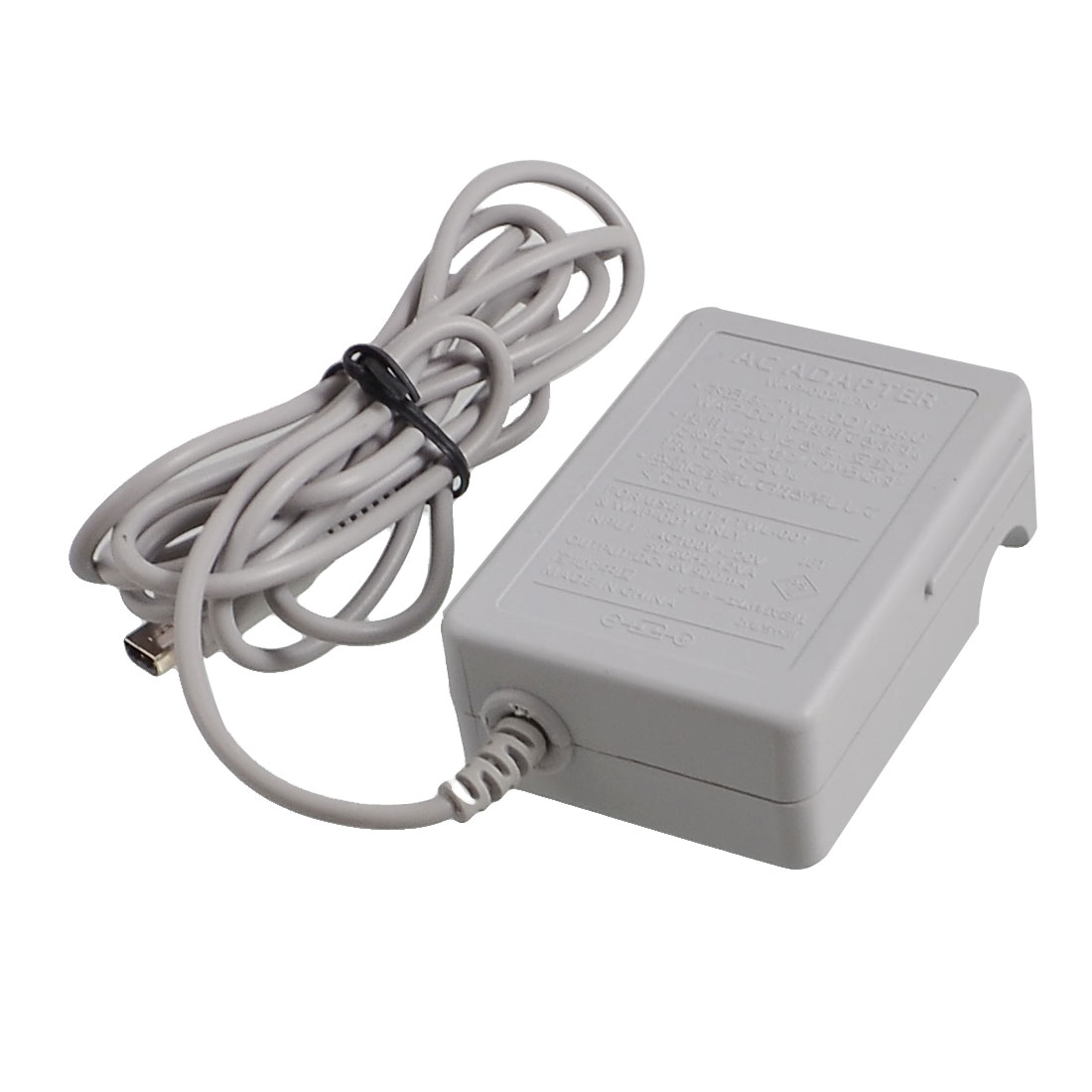 US Plug AC 100-220V Gray Plastic Power Charger Adapter for Nintendo 3DS