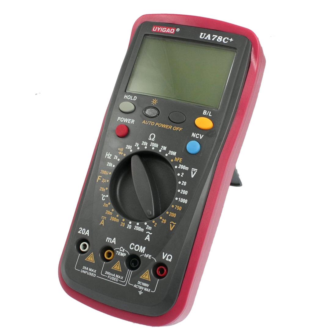 AC DC Voltmeter Ammeter Digital Meter Multimeter