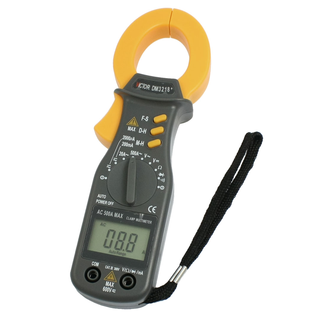 Resistance DC AC Current Testing Tool Clamp Meter Multitester