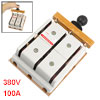 380V 100A 3 Pole Double Throw Electric Brake Safety Closing Switch