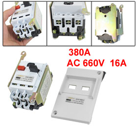 DZ162-16 AC 660V 3 Pole 4A-6.3A Adjustable Motor Protection Circuit Breaker