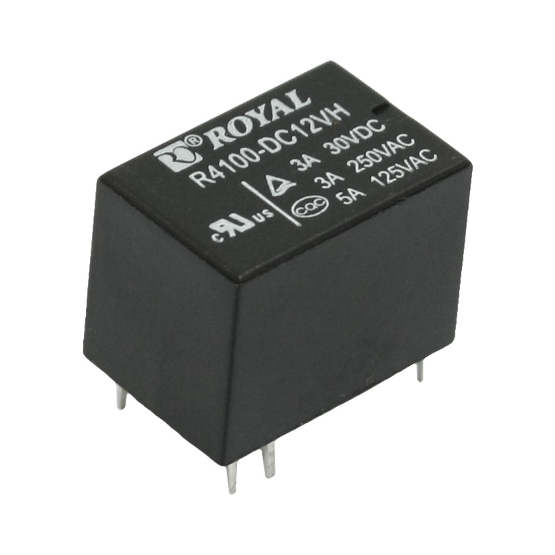 AC 250V/3A AC 125V/5A 6 Pins General Purpose Electromagnetic Relay DC 12V Coil