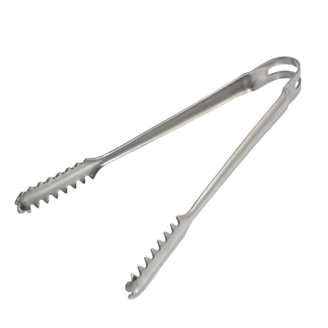 Kitchen Ware Tooth Head Design Stainless Steel Clip Food Ice Lifting Tong