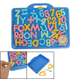 Children Colorful Education Magnetic Letter Number Learning Toy