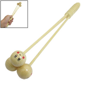 "13.5"" Long Wooden Handy Relaxed Knock Legs Arms Massager"