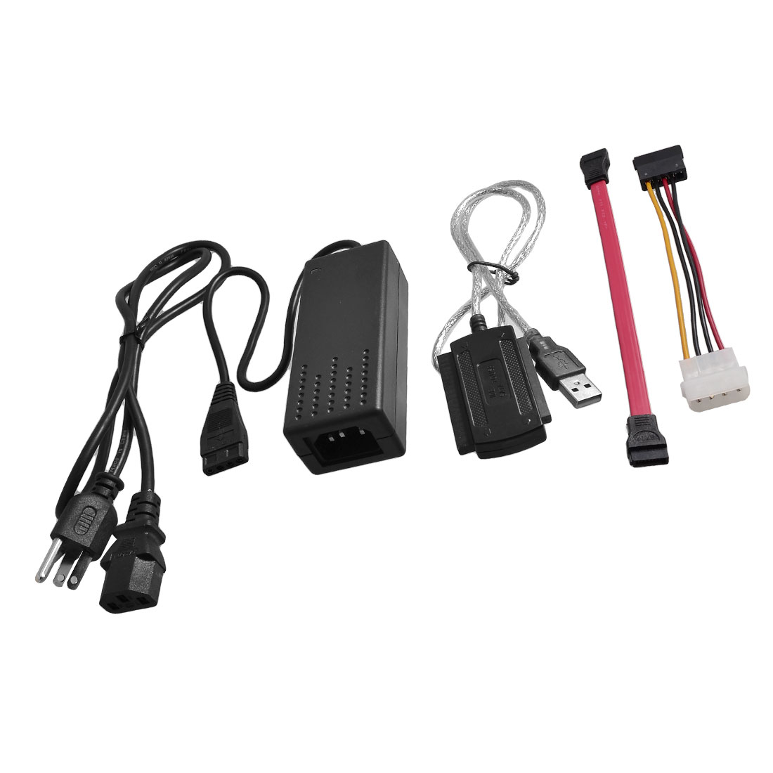 Laptop Desktop USB 2.0 to IDE SATA 2.5 3.5 HDD Adapter Cable