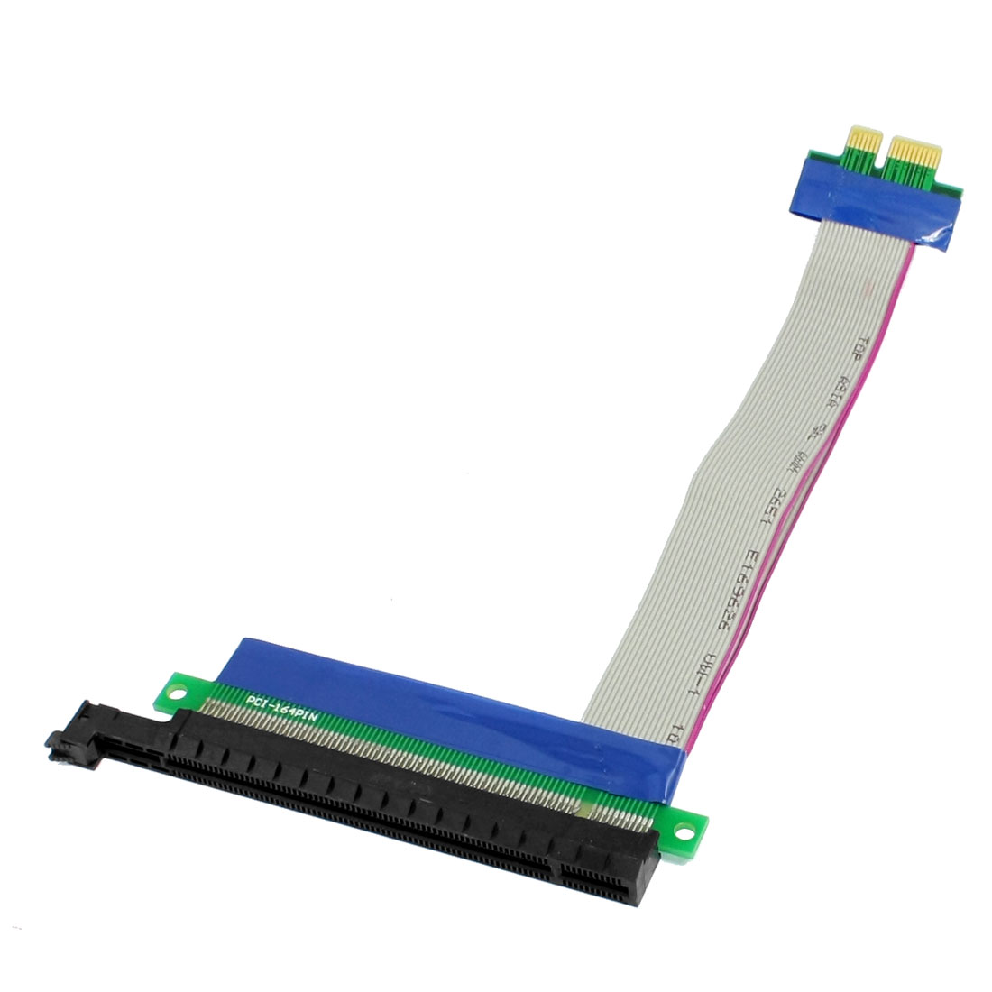 Computer PC PCI-Express PCI-E 16X/1X Riser Card Flexible Extension Cable