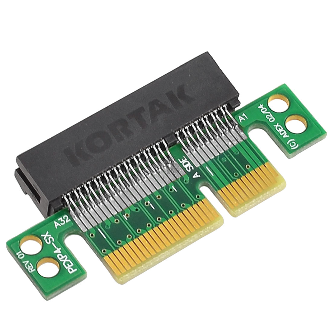 PC Computer Desktop to PCI-E PCI-Express 4X Adapter Card Connector