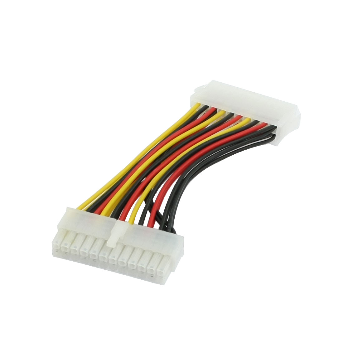 Computer PC IDE 20 Pin Male to 24 Pins Female Power Cable 5.3""