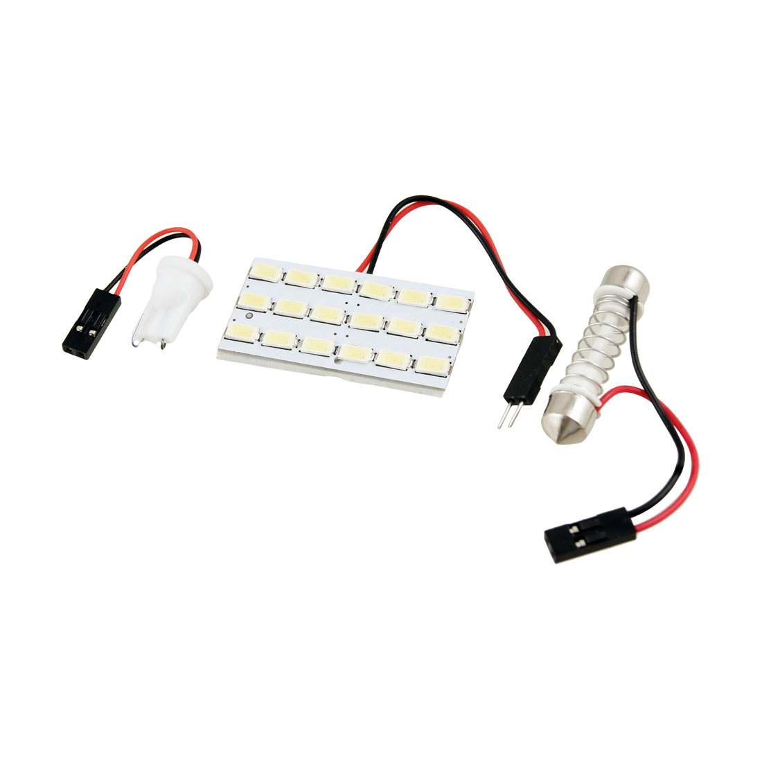 DC 12V White 5630 SMD 24 LED T10 Festoon Car Roof Dome Light Lamp Bulb