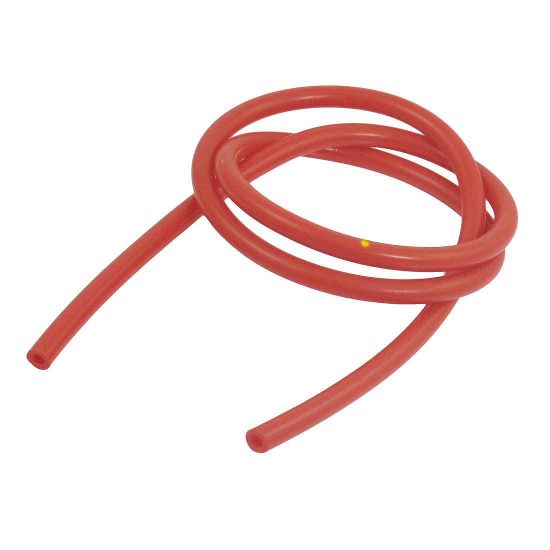 4mm Inner Dia 8mm Outside Dia 1M Long Red Silicone Vacuum Hose Tubing