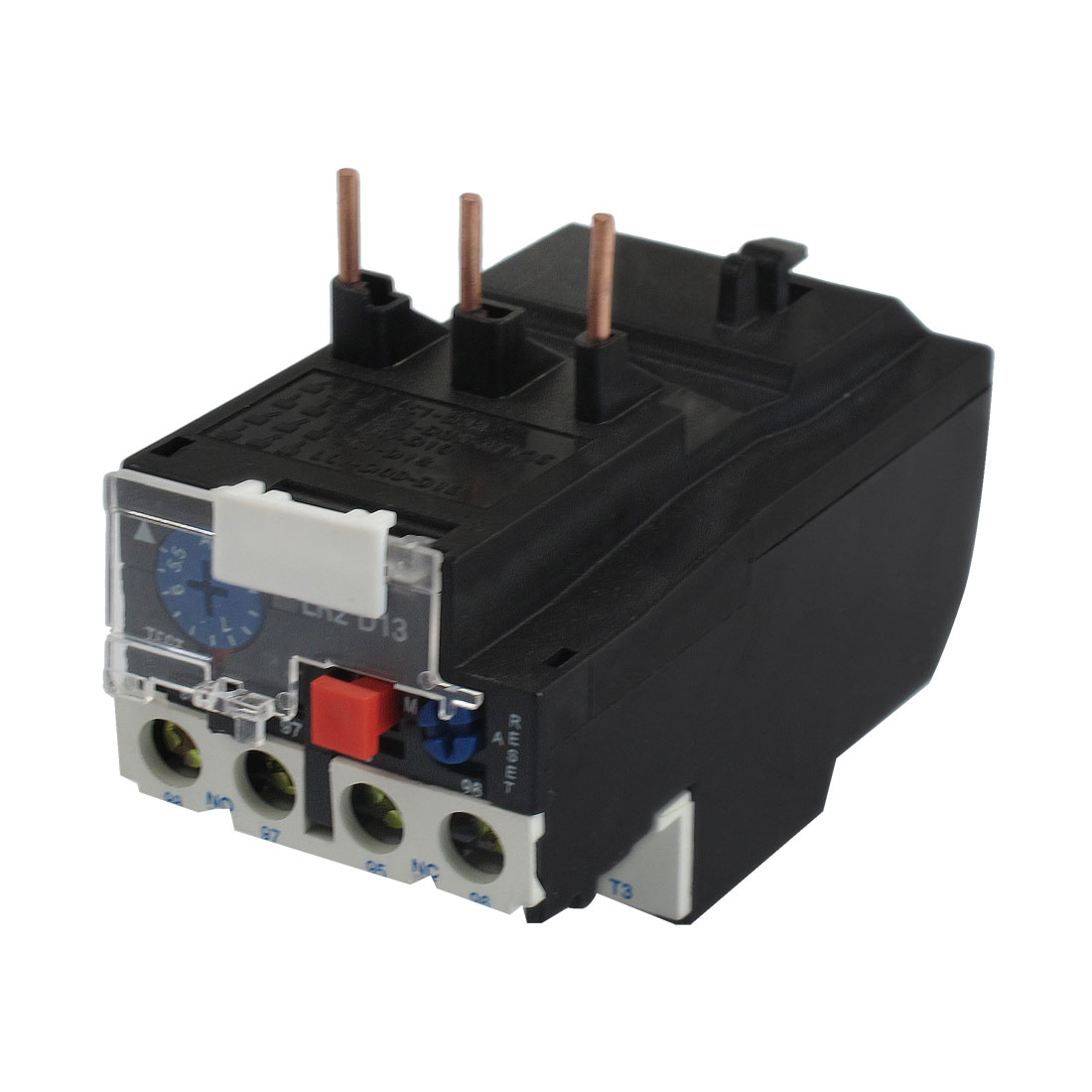 JR28-13 8A 3 Pole 5.5-8A Current Range Motor Protective Thermal Overload Relays