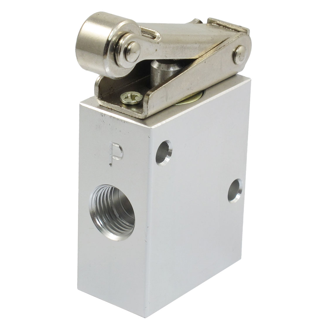 JM-07 1/4 PT Thread 2 Position 3 Way Roller Type Mechanical Pneumatic Valve