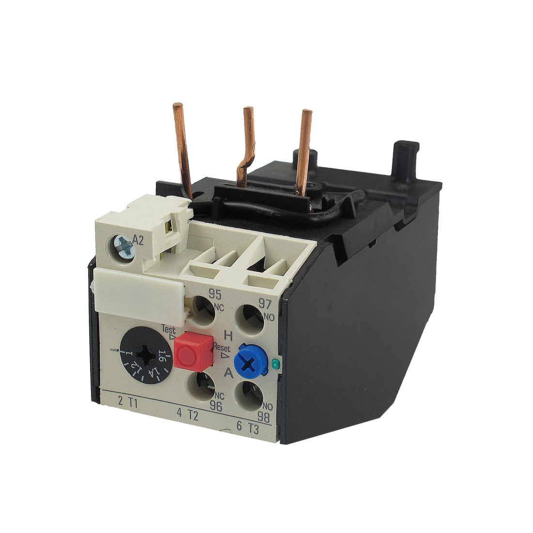 JRS2-12.5 1.6A 3 Pole 1-1.6A Current Range Motor Protective Thermal Overload Relays