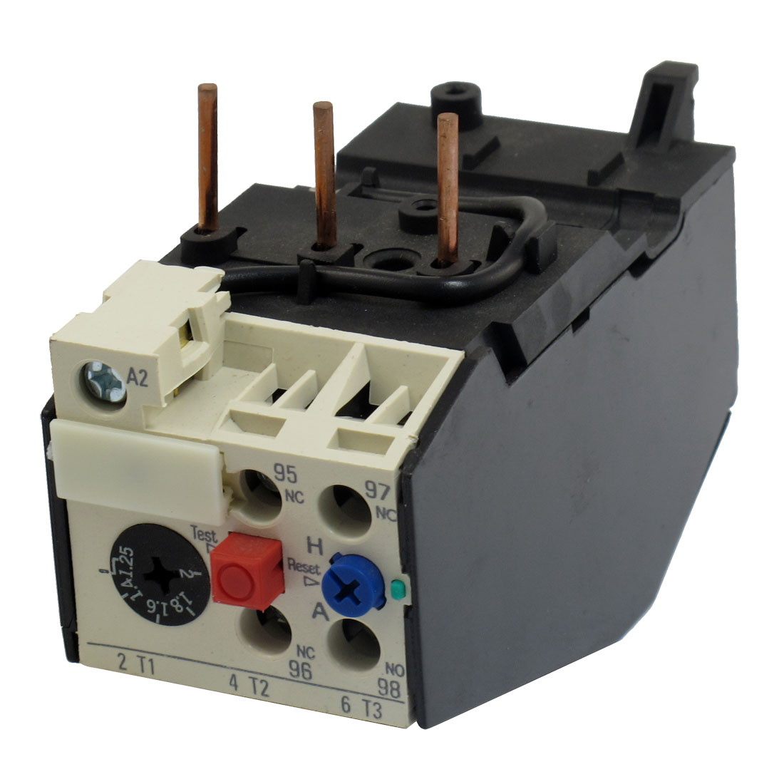 JRS2-25 2A 3 Pole 1.25-2A Current Range Motor Thermal Overload Relays