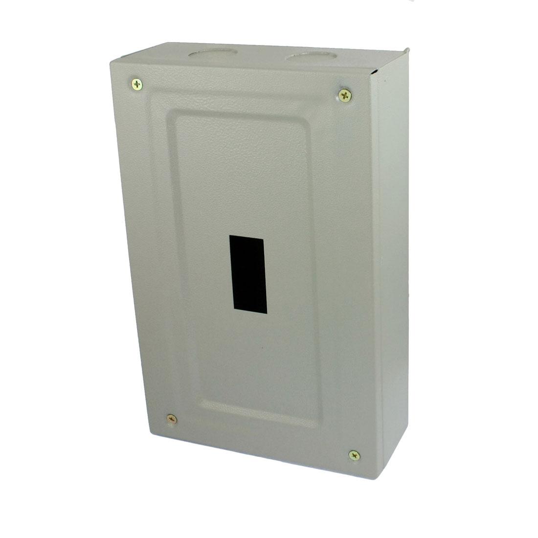 Rectangular Gray Metal Main Distribution Box Guard Cover