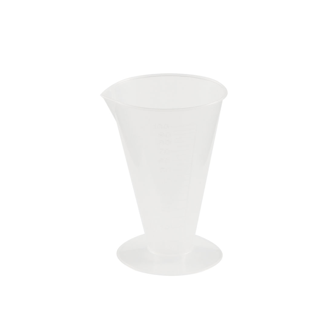 Laboratory 25mL Measurement Plastic Conical Shape Measure Cup