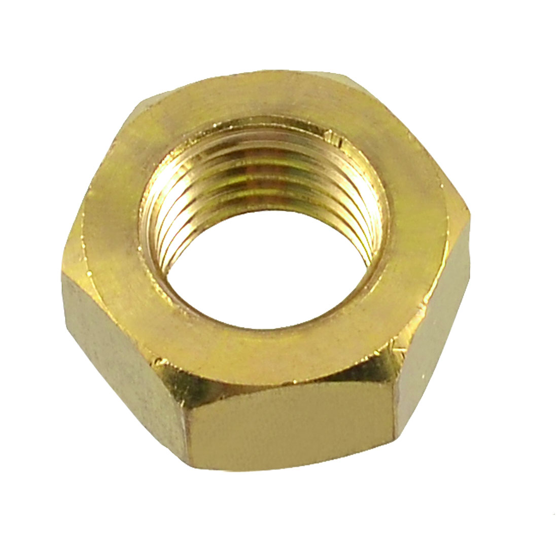 Brass M20 20mm Diameter Thread Hexagonal Hex Head Screw Nut