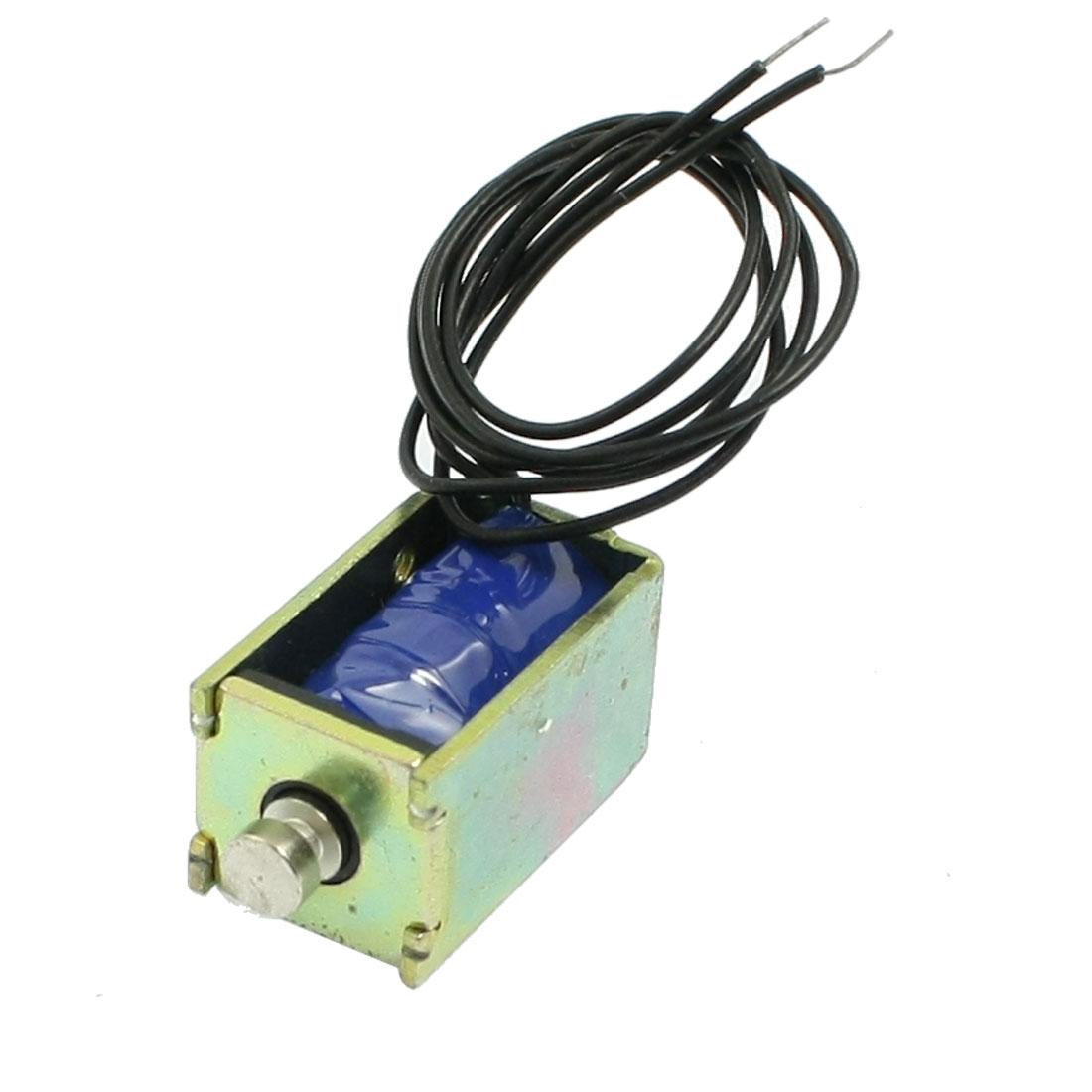 Open Frame Electromagnet Electric Solenoid DC 6V 1.2A 3mm 19gf