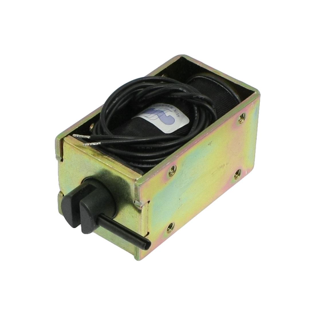 DC 12V 1.33A 6mm Stroke Open Frame Solenoid Electromagnet 700gf