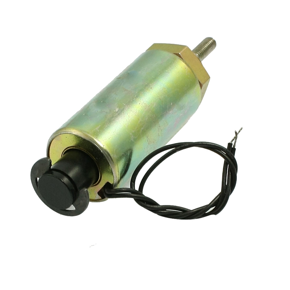 18mm Stroke 0.3N Cylindrical Tubular Pull Type Solenoid DC 24V 1.2A