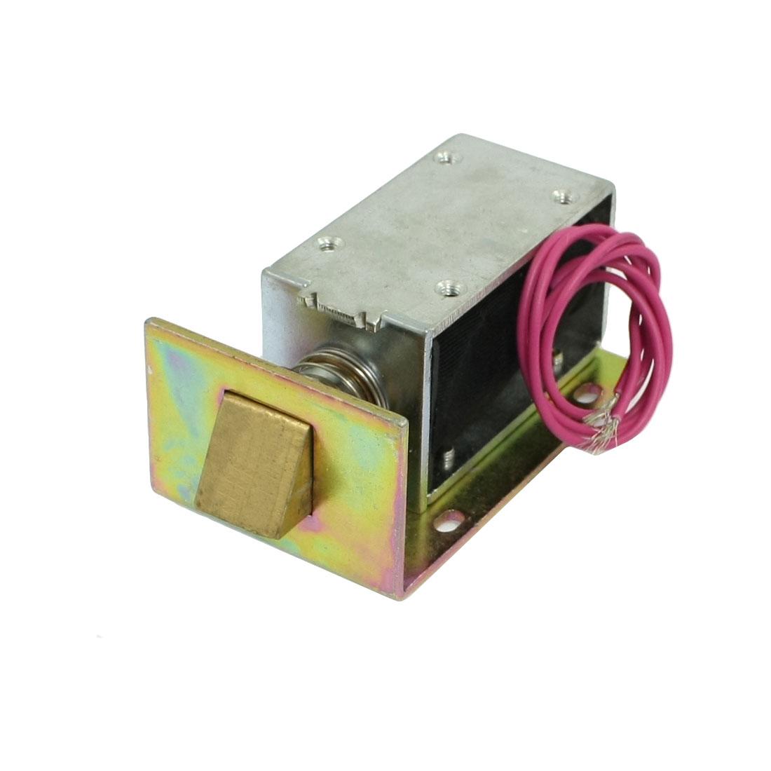 DC 12V 1.71A 6mm 700gf Actuator Door Lock Open Frame Type Solenoid
