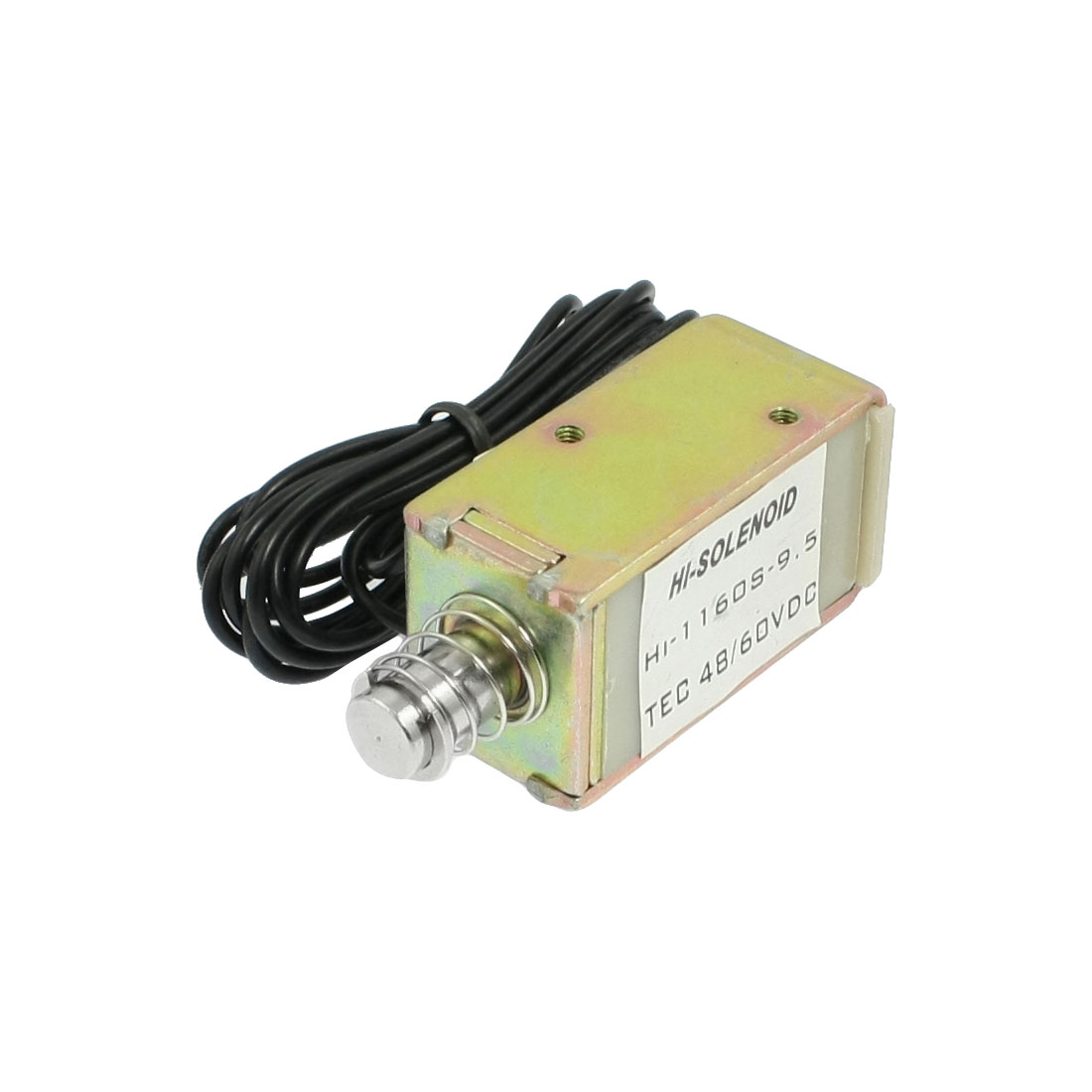16kgf Force Linear Motion Push Type Solenoid Electromagnet DC 48V 5.05A