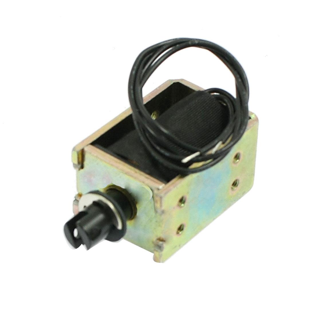 Linear Motion Open Frame Electromagnet Solenoid DC 12V 0.92A 450gf