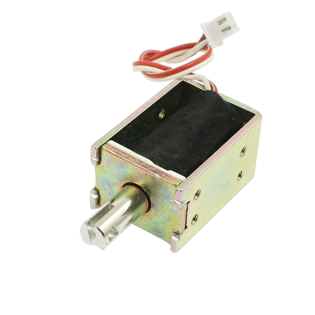 Electric Equipment Open Frame Pull Type Solenoid DC 24V 0.12A